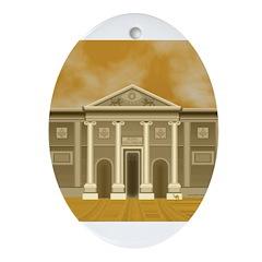 King Solomon's Temple Oval Ornament
