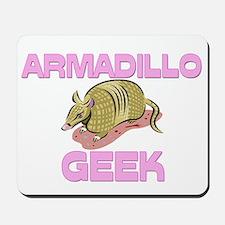Armadillo Geek Mousepad