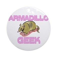 Armadillo Geek Ornament (Round)