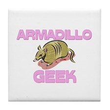 Armadillo Geek Tile Coaster
