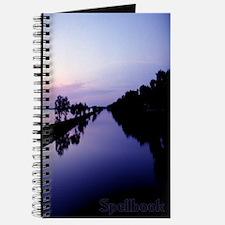 Blue Sunset Reflection Spellbook