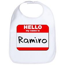 Hello my name is Ramiro Bib