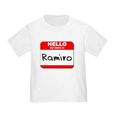 Hello my name is Ramiro T