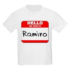 Hello my name is Ramiro T-Shirt