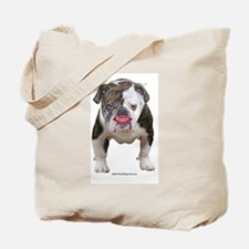Full Pit Bull With Lipstick Tote Bag