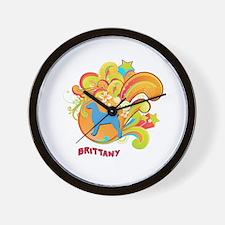 Groovy Brittany Wall Clock