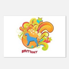 Groovy Brittany Postcards (Package of 8)