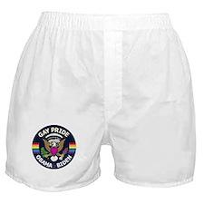 Obama National Gay Pride Seal Boxer Shorts