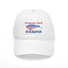 Kiwis for Obama Hat White