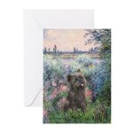 Seine/Cairn (brin) Greeting Cards (Pk of 20)