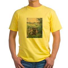 Seine/Cairn (brin) Yellow T-Shirt