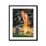 Midsummer/Cairn (brin) Framed Panel Print