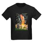 Midsummer/Cairn (brin) Kids Dark T-Shirt