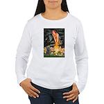 Midsummer/Cairn (brin) Women's Long Sleeve T-Shirt