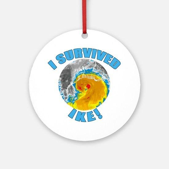 I Survived Hurricane Ike Ornament (Round)