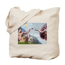Creation/Cairn trio Tote Bag