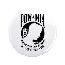 """Vietnam Era POW MIA 3.5"""" Button"""