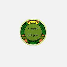 SUPPORT IRISH POWs Mini Button