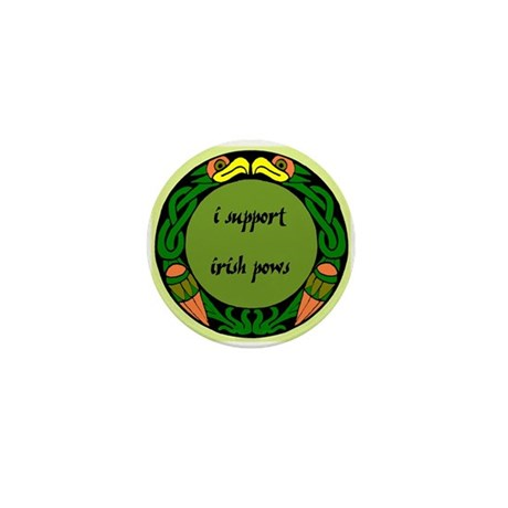 SUPPORT IRISH POWs Mini Button (10 pack)