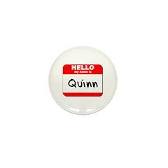Hello my name is Quinn Mini Button (10 pack)