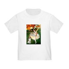 Dancer/Brittany Spaniel Toddler T-Shirt