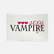Sexy Vampire Rectangle Magnet