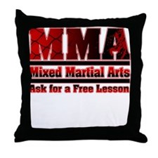 MMA Mixed Martial Arts - 2 Throw Pillow