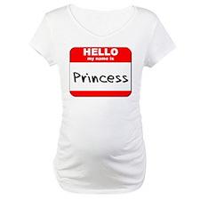 Hello my name is Princess Shirt