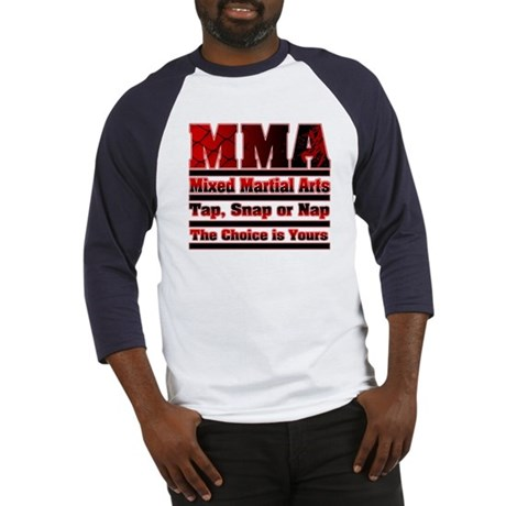 MMA Mixed Martial Arts - 3 Baseball Jersey