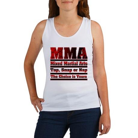 MMA Mixed Martial Arts - 3 Women's Tank Top