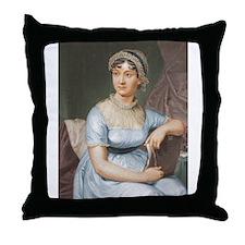 Austen in Colour Throw Pillow