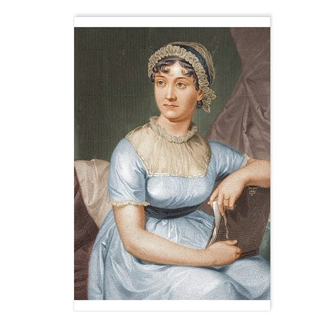 Austen in Colour Postcards (Package of 8)