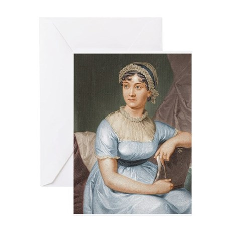 Austen in Colour Greeting Card