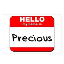 Hello my name is Precious Postcards (Package of 8)