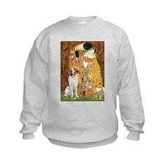 Kiss/Brittany Spaniel Sweatshirt