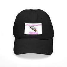 African Grey Parrot Geek Baseball Hat
