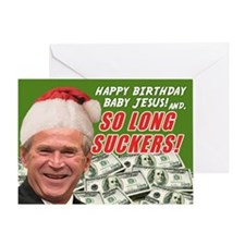 One Last Christmas Card From President Bush!