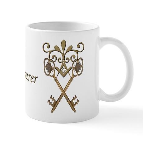 Masonic Treasurers Mug