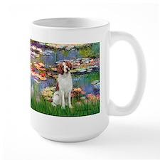 Lilies 2/Brittany Spaniel Mug