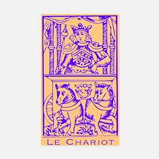 Le Chariot, Tarot Rectangle Decal