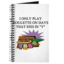ROULETTE PLAYER Journal