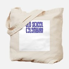 Old School Colombian Tote Bag