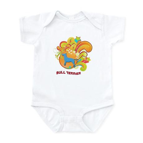 Groovy Bull Terrier Infant Bodysuit