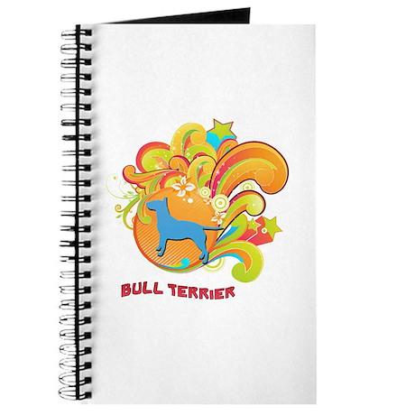 Groovy Bull Terrier Journal