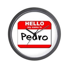 Hello my name is Pedro Wall Clock