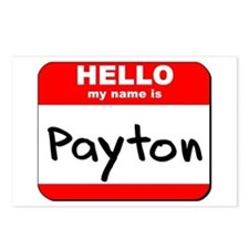 Hello my name is Payton Postcards (Package of 8)