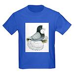 English Trumpeter Opal Bald Kids Dark T-Shirt