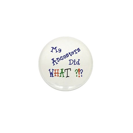 Did What? (blue) Mini Button (10 pack)