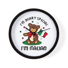 Beary Special Italian Wall Clock