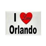 I Love Orlando Rectangle Magnet (10 pack)
